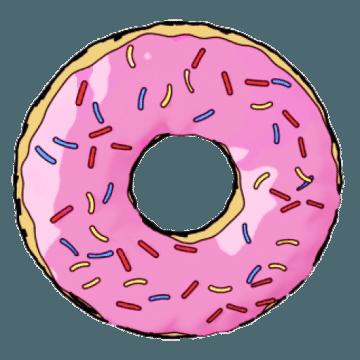 creative donut doughnut newbury berkshire logo design