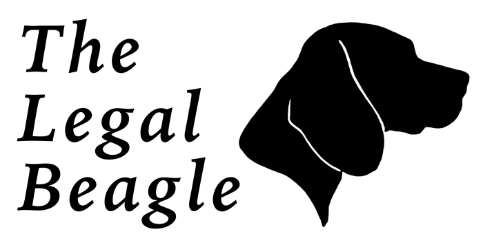 the legal beagle law language education rio logo