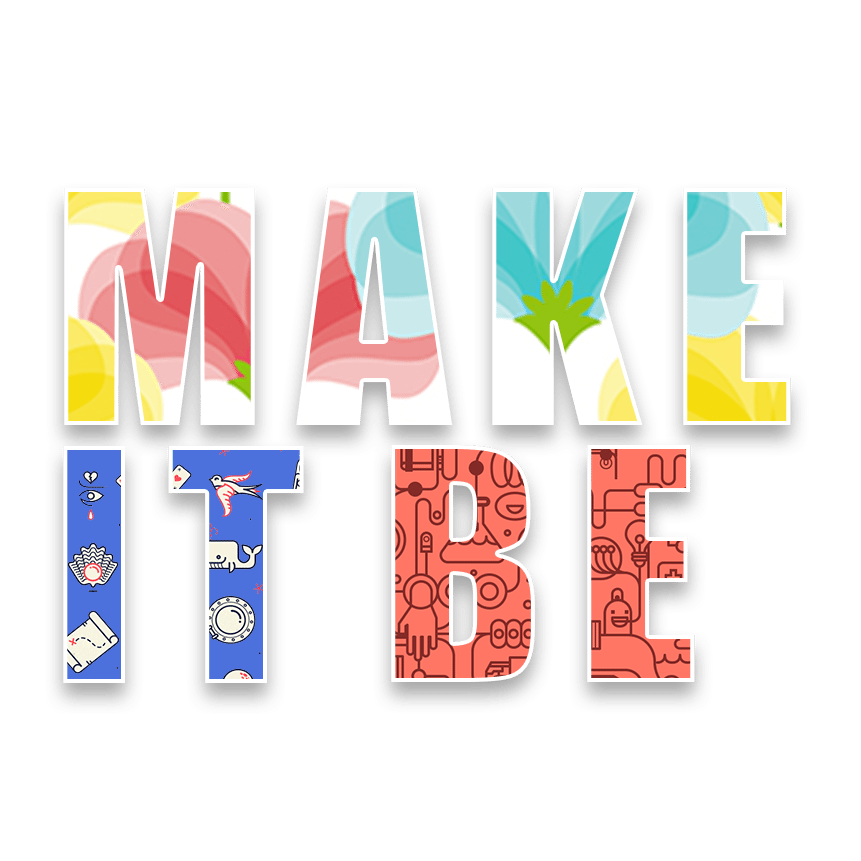 Make It Be logo branding marketing email creative donut website design newbury berkshire sam lee