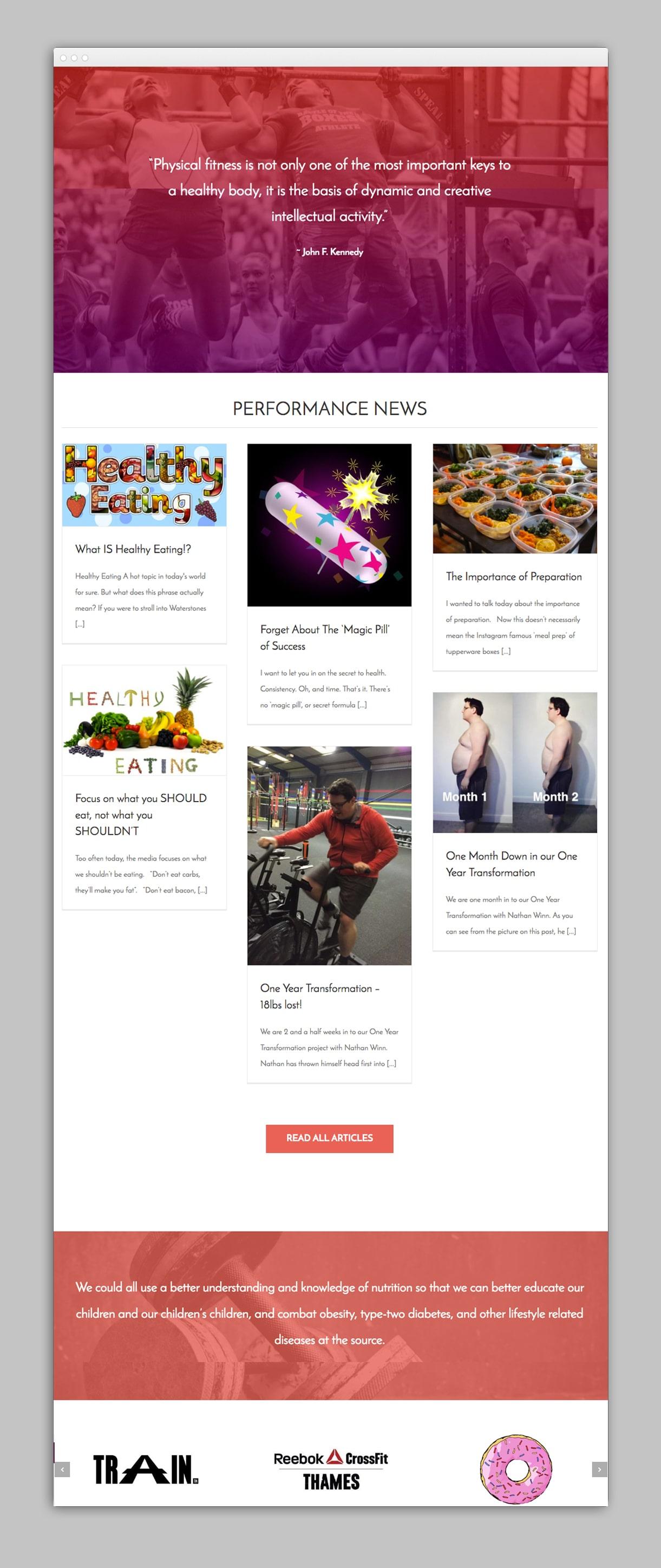 creative donut best web design leeds next step nutrition