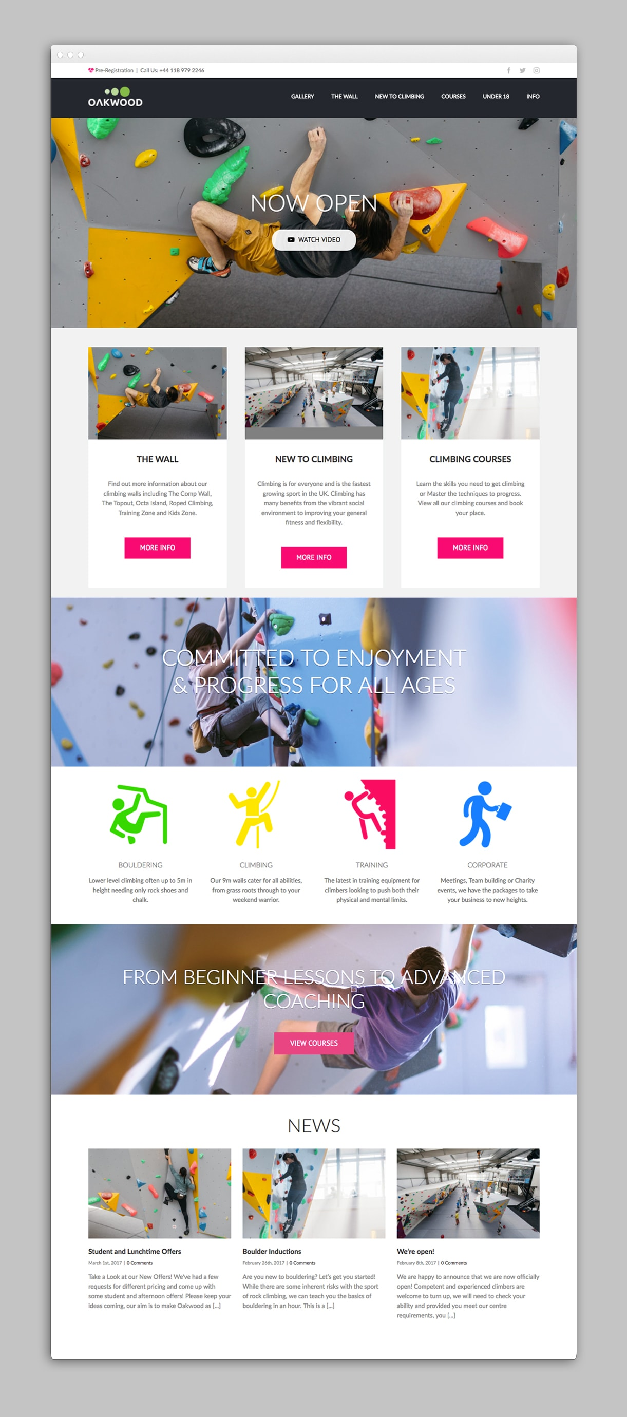 creative donut best web design oakwood climbing reading berkshire