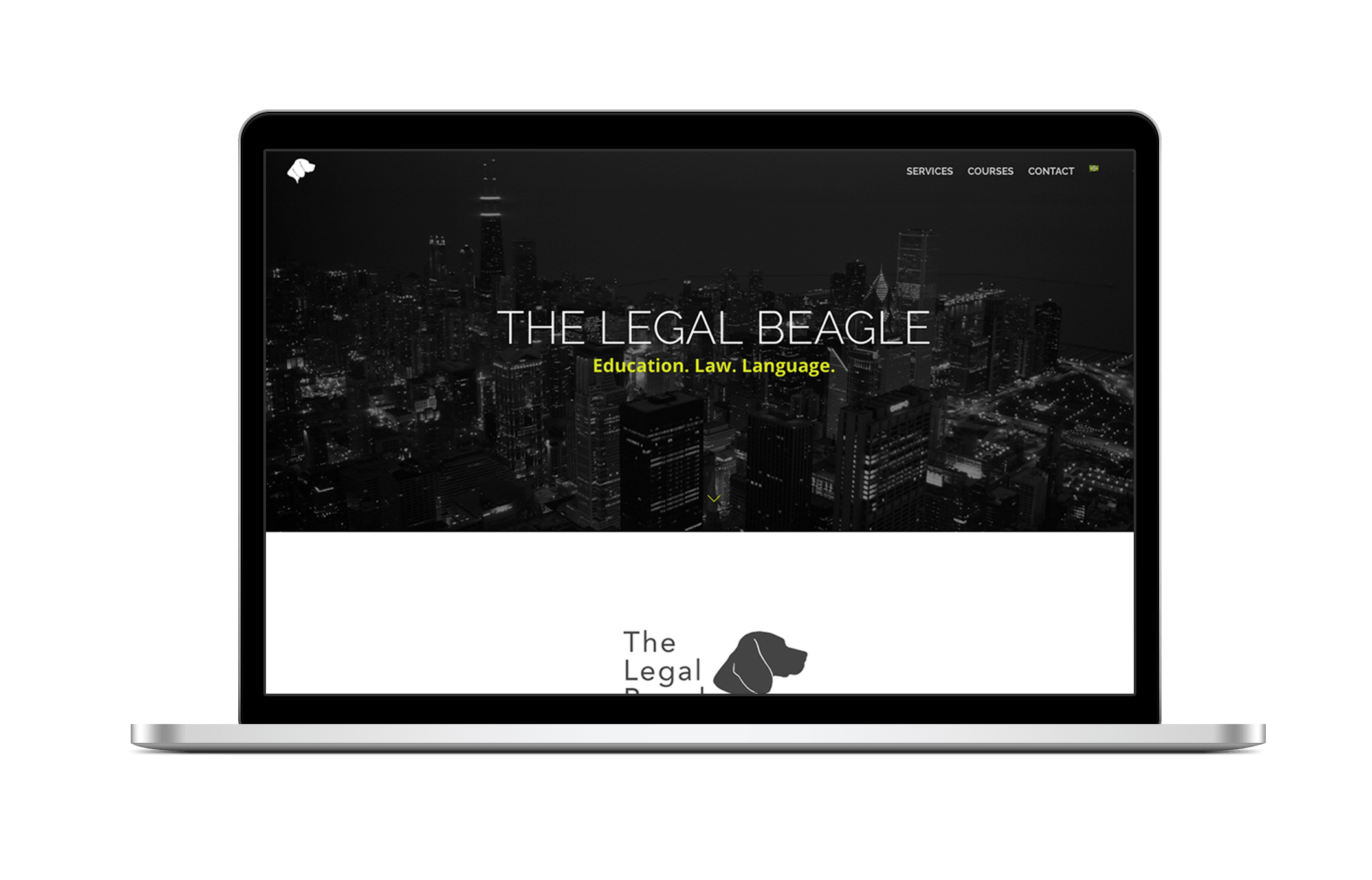 creative donut best web design berkshire newbury legal beagle law rio english advogado