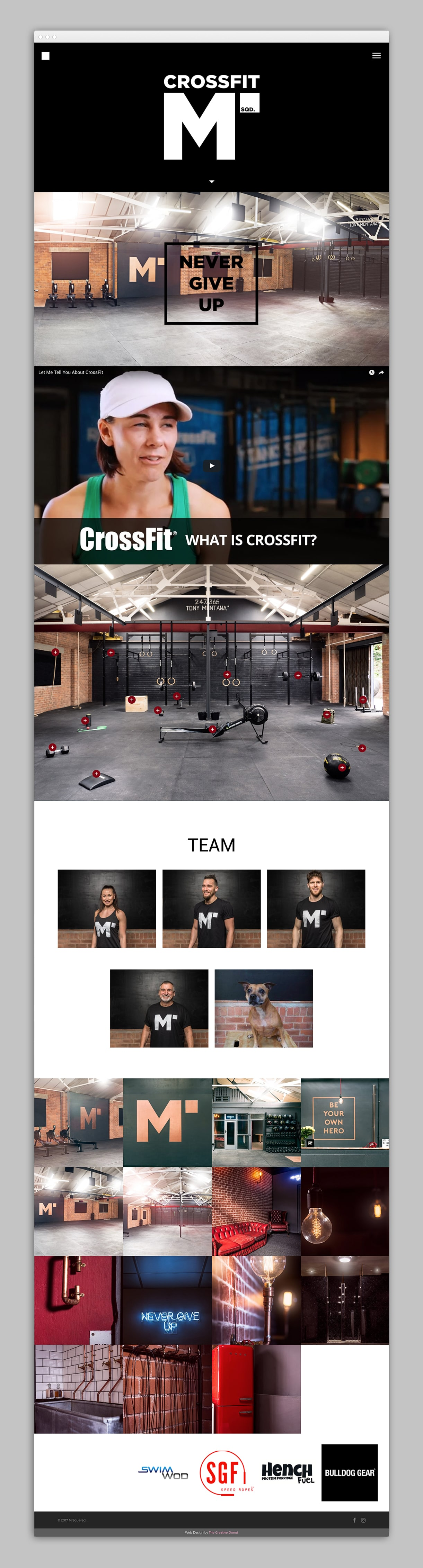 creative donut best web design manchester crossfit m squared fitness competition