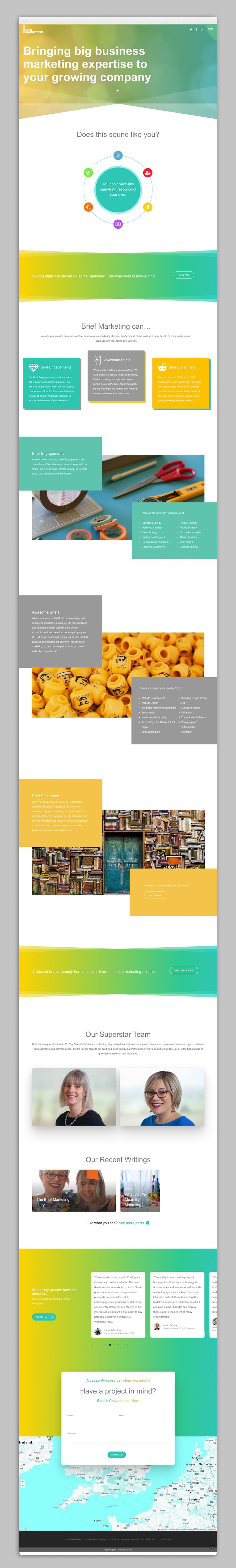 creative donut best web design berkshire newbury brief marketing basingstoke